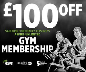 salford community leisure membership advert